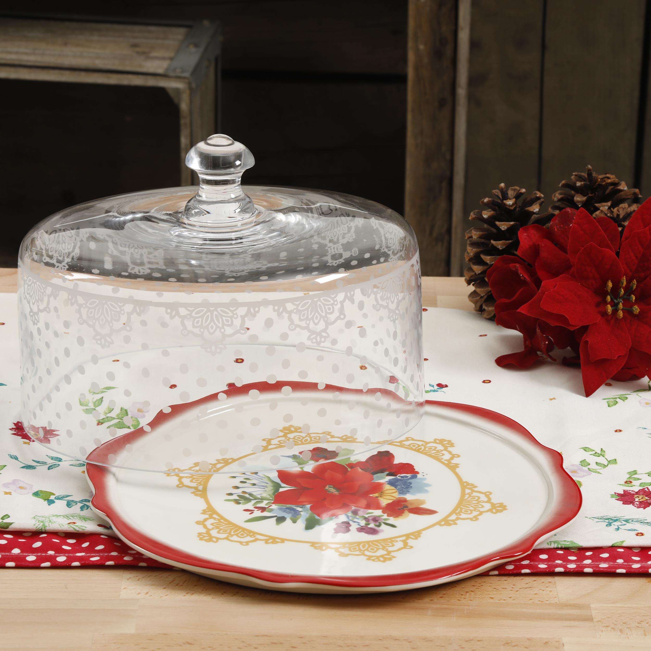 10 Inch Glass Cake Dome