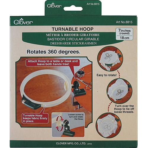 """Clover Turnable Hoop, 7-1/2"""""""