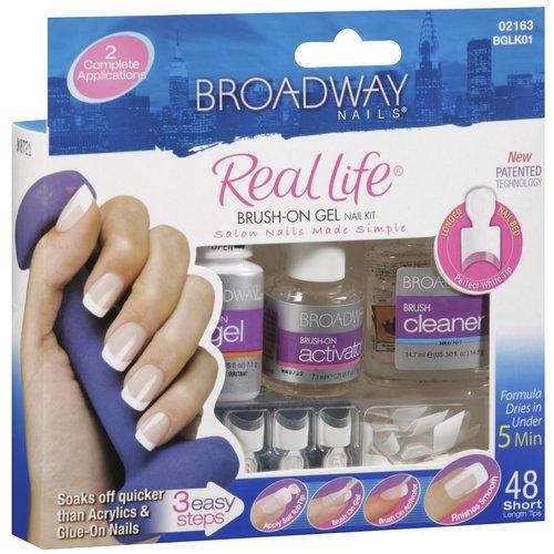 Kiss products broadway nails real life nail kit 1 ea walmart solutioingenieria Images