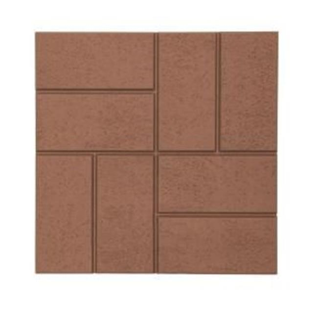 EmscoGroup 2158HD Plastic And Lightweight Brick Pattern Resin Patio Pavers
