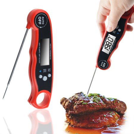 Meat Thermometer Instant Read Thermometer cooking thermometer with backlight magnet Auto On/Off digital probe food thermometer for BBQ Grill smoker - image 2 of 2
