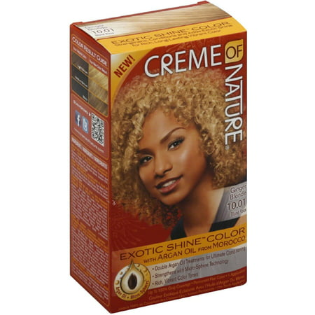 Creme Of Nature Permanent Hair Color 10 01 Ginger Blonde 1 0 Ct