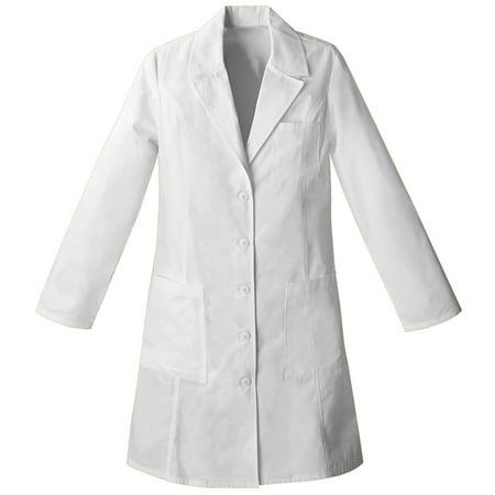 Panda Uniform Made to Order Women's 37 Inches Long Consultation Lab Coat White Consultation Coat