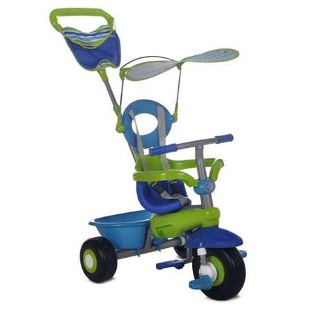 smart trike fresh blue green 3 in 1 kid 39 s tricycle. Black Bedroom Furniture Sets. Home Design Ideas