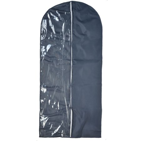 50l Suit - Unique Bargains Travel Home Clothes Suit Dress Dustproof Cover Storage Protector Bag Dark Gray