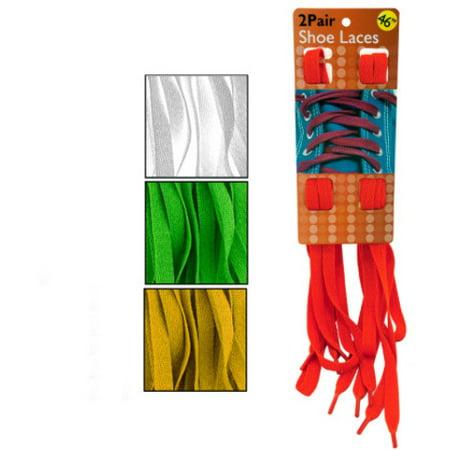 Colorful Shoelaces Set Case Pack 10