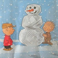 Peanuts Snoopy Christmas Lunch Napkins (16ct)