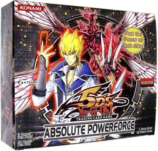 Konami Yu-Gi-Oh Absolute Powerforce Booster Box
