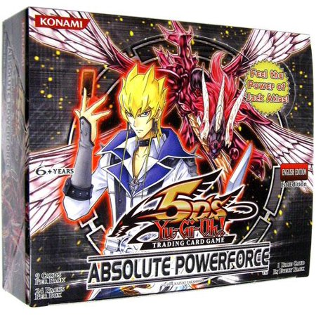 Yu-Gi-Oh Absolute Powerforce Booster (Absolute Cards)