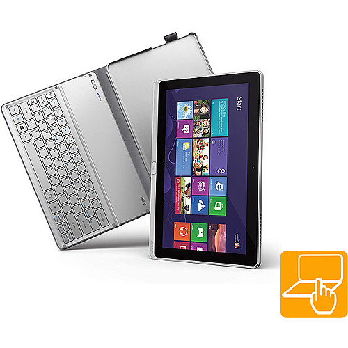 "Acer P with WiFi 11.6"" Touchscreen Tablet PC , Silver"