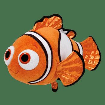 Ty Beanie Babies Finding Dory Nemo Fish Medium Plush