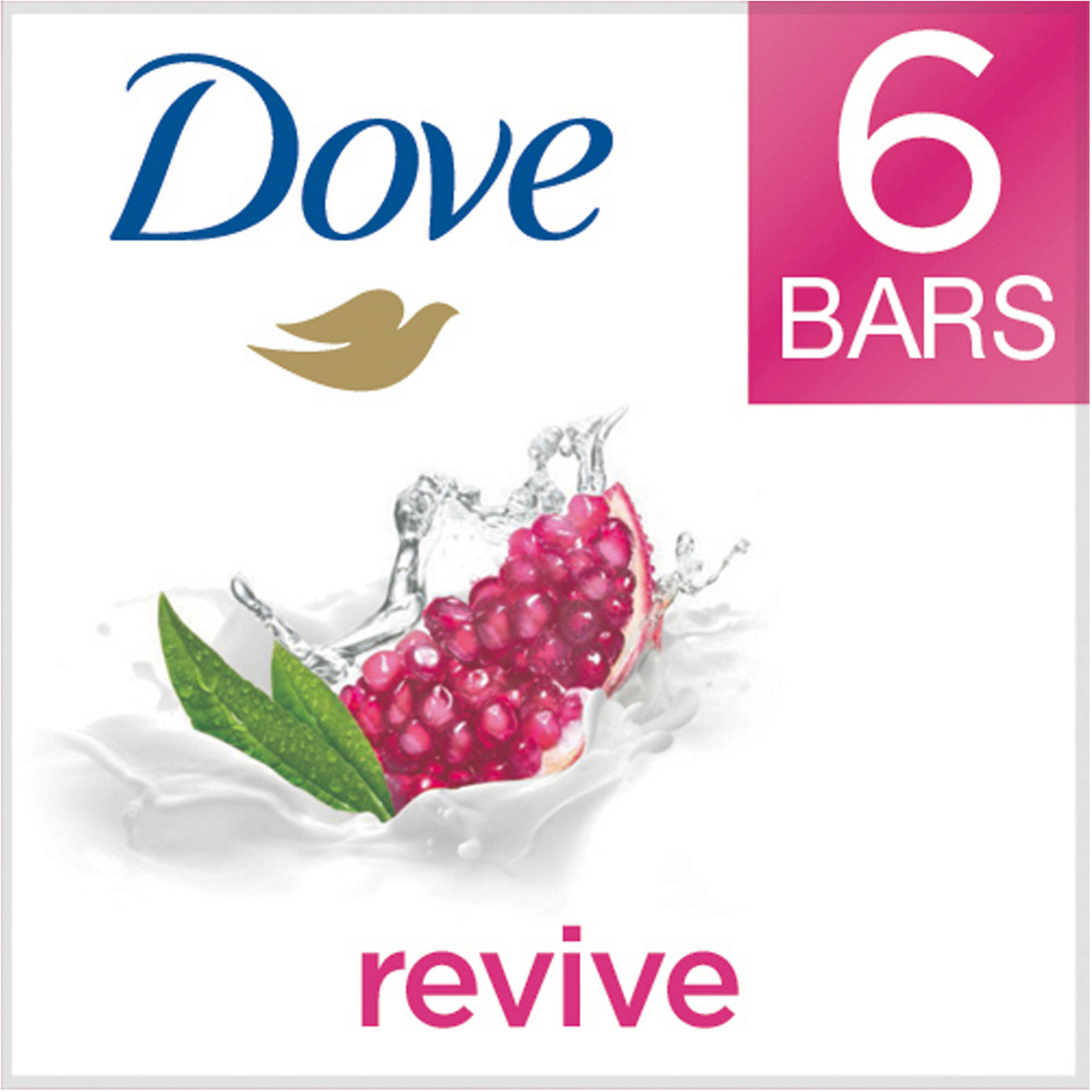 Dove go fresh Revive Beauty Bar, 4 oz, 6 Bar