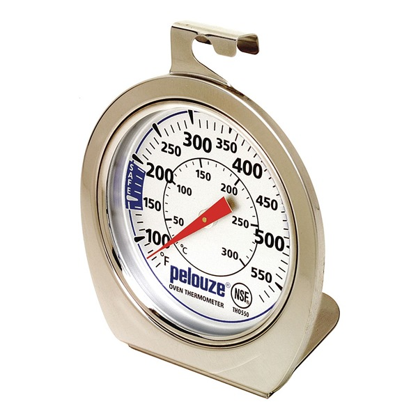 Food Srvc Thermometer, Oven, 60 to 580 F