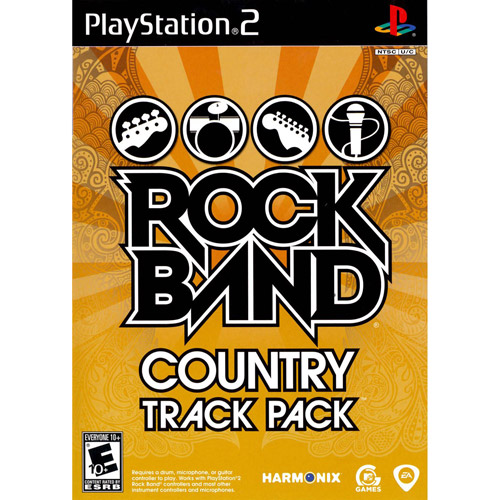 ROCK BAND COUNTRY TRACK PACK PS2