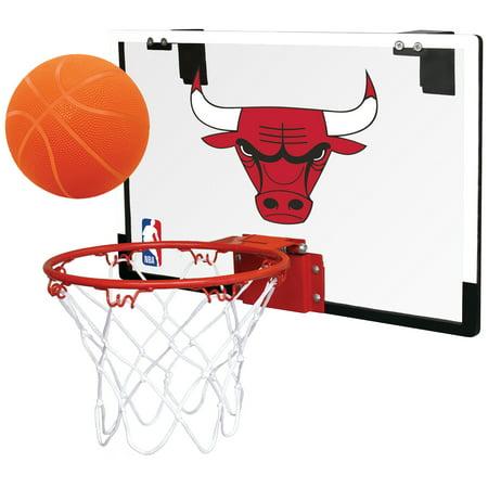 Rawlings NBA Game On Basketball Hoop Set, Chicago (Chicago Bulls Nba Table)