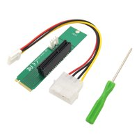 PCI-E 4X bus-to-NGFF M.2M key bus adapter power line converter card