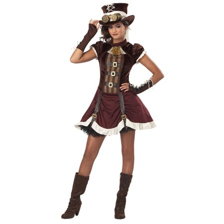 Tween Steampunk Girl Costume by California Costumes 04068 - Teen Steampunk Costume