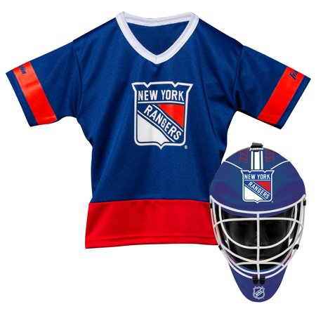 the latest 38f25 348ab Franklin Sports NHL New York Rangers Youth Team Uniform Set