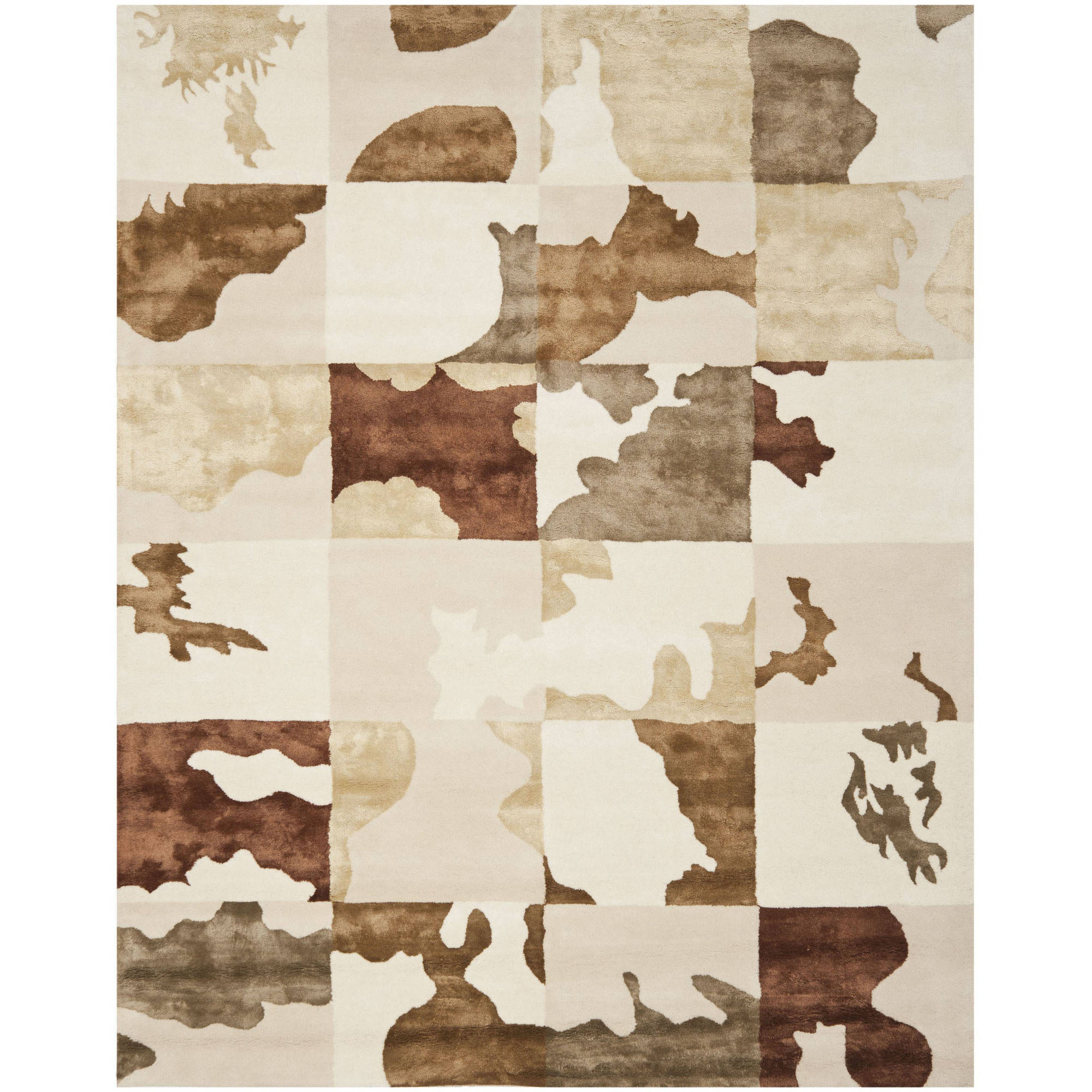 Safavieh Soho Laurie Wool Rug, White/Multi-Color
