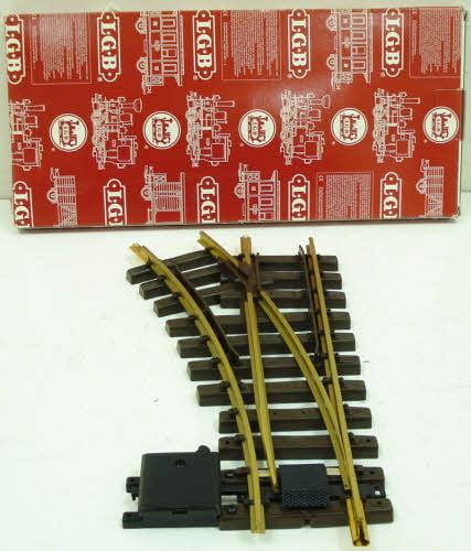 LGB G Scale Manual Switch Right R1 30º # 12000