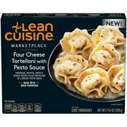 LEAN CUISINE MARKETPLACE Four Cheese Tortelloni with Pesto Sauce 7.38 oz. Box