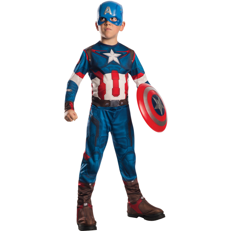 captain america child halloween costume - walmart