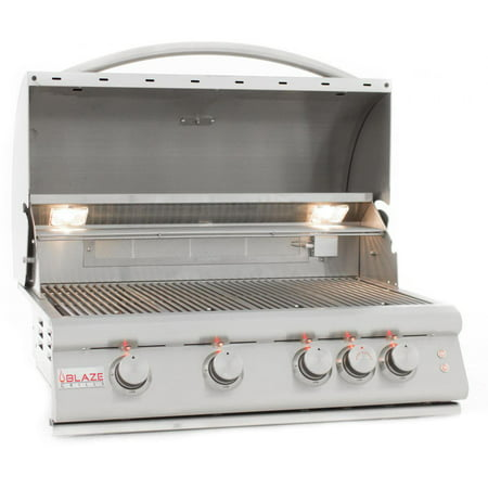 Image of Blaze Lte 32-inch 4-burner Built-in Propane Gas Grill With Rear Infrared Burner & Grill Lights