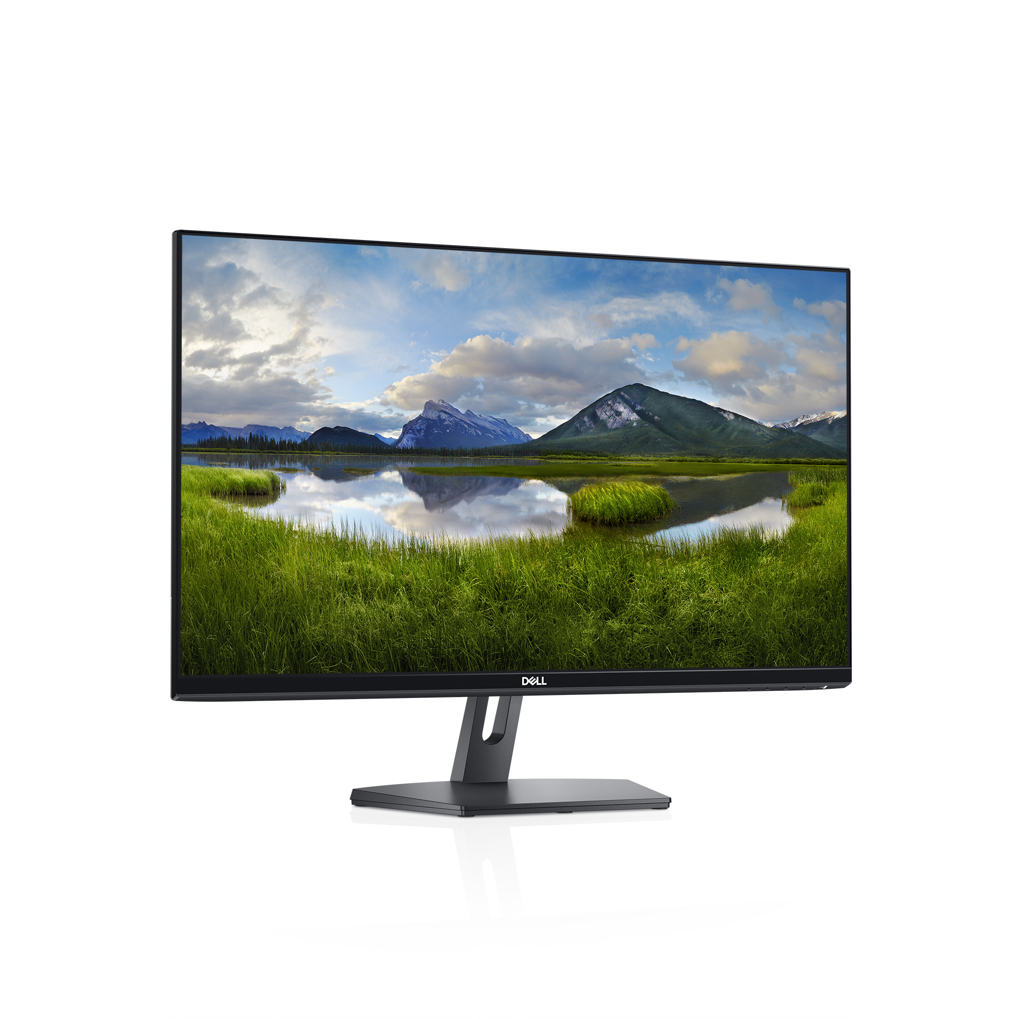 "Dell 27"" IPS LED Monitor, SE2719H, FHD, 1920 x 1080, 60 Hz, HDMI and VGA port, thin bezel, 1 Year Advanced Exchange Warranty"