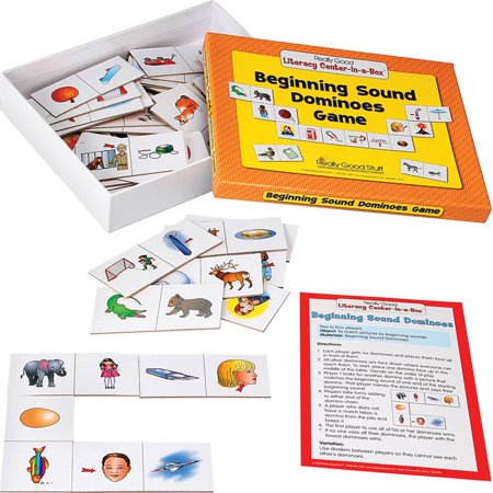 Beginning Sound Dominoes Literacy Center - Grades K-1 - Literacy Play Centers Books