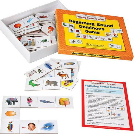 Beginning Sound Dominoes Literacy Center - Grades K-1