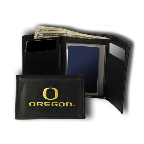 NCAA Licensed Embroidered Trifold - Oregon Ducks