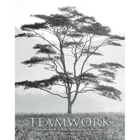 Sagebrush Fine Art PDXDF1097SMALL Teamwork Poster Print by Dennis Frates, 11 x 14 - Small - image 1 de 1