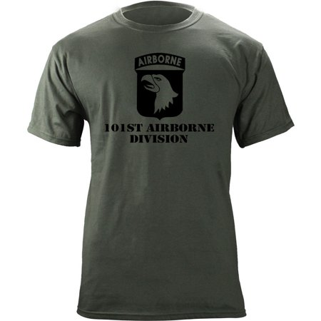 Army 101st Airborne Division Subdued Veteran T-Shirt