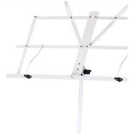 PGIK SMS1XWT Deluxe Folding Music Stand - Assorted Color - image 1 of 1