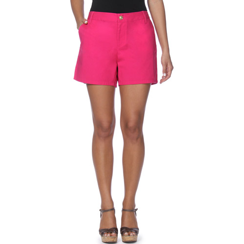 In The Mix - Womens Cotton Twill Short