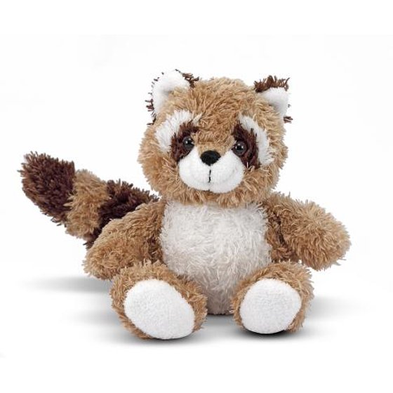 Melissa Doug Rascal Raccoon Stuffed Animal Walmart Com
