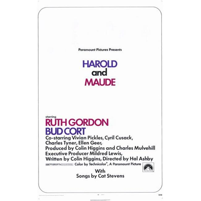 11 x 17 Movie Posters Harold and Maude