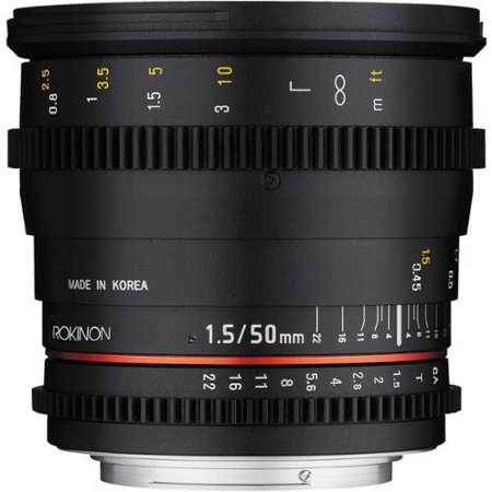 Rokinon Ds 50Mm T1 5 Cine Lens For Mft