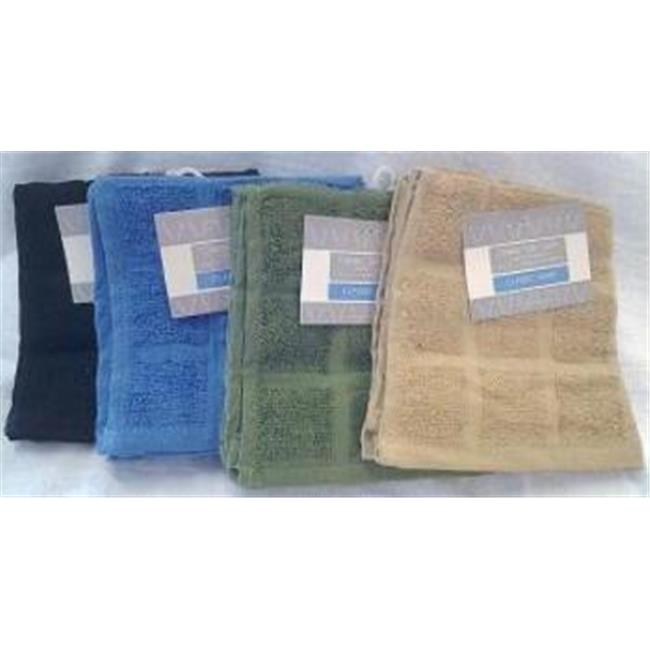 DDI 1475944 2 pack 12 inch x 12 inch Terry Cotton Dishcloth Case Of 72
