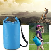 Outdoor Portable Single Shoulder Waterproof Dry Bag 10L For Beach Kayak Fishing Camping Storage Dry Bag For Canoeing... by