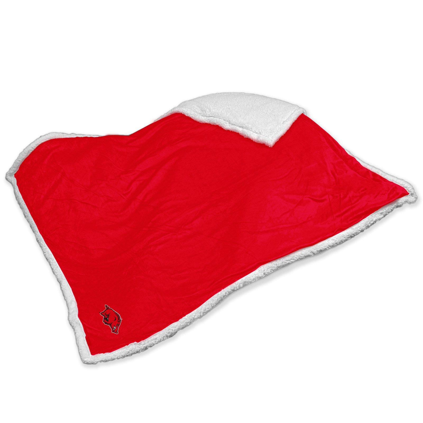 Logo Chair NCAA Arkansas Sherpa Blanket