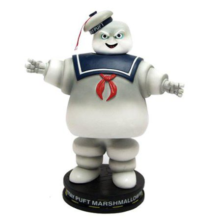 Ghostbusters Stay Puft Marshmallow Man Deluxe Bobble Head](Ghostbusters Marshmallow Man)