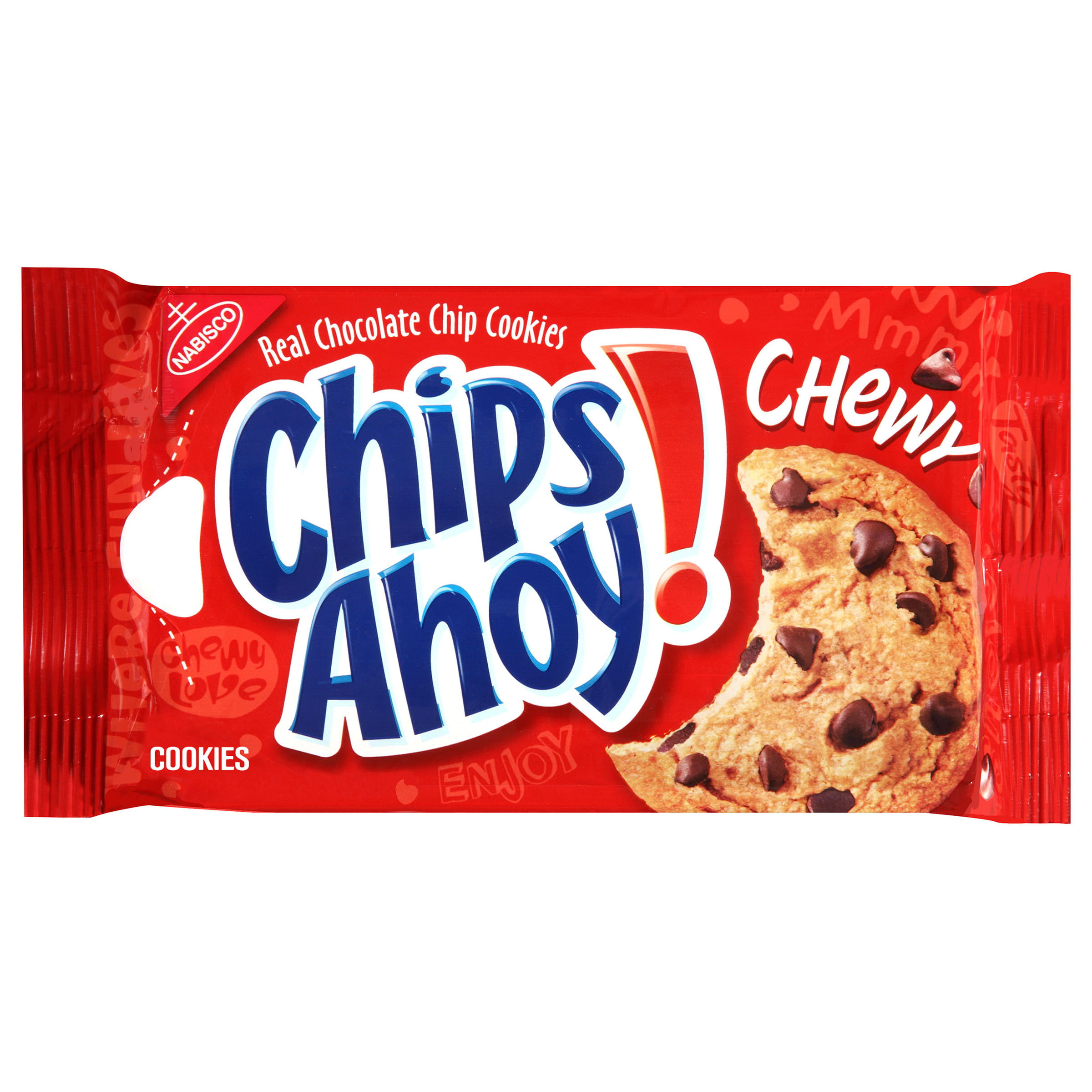 Chips Ahoy Chewy Chocolate Chip Cookies 13 Oz Walmart Com Walmart Com