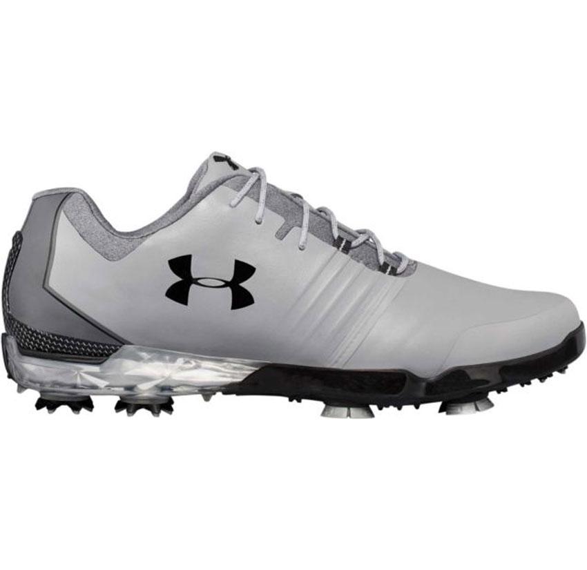 NEW Under Armour Jordan Spieth Match Play Steel/Black Golf Shoes Mens Size 10
