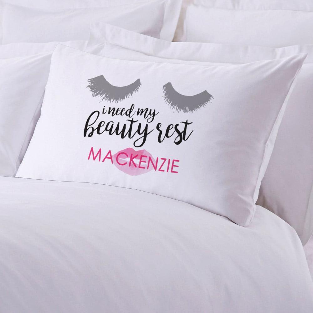 Personalized Beauty Rest Standard Pillowcase