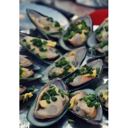 - LAMINATED POSTER Eat Delicious Fish Mussels Food Seafood Market Poster Print 24 x 36