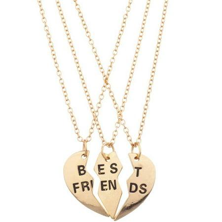 163419d47f0 ONLINE - Best Friends Necklace Set, 3-Piece - Walmart.com