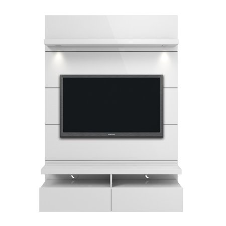 Manhattan Comfort Cabrini 1 2 Floating Wall Theater Entertainment Center