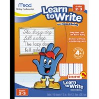 Mead, MEA48556, Raised Ruling Dotted Line Writing Tablet, 1 Each