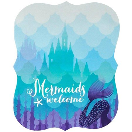 Mermaids Under The Sea Invitations 8pk Walmartcom